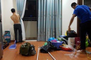 Công trình rèm vải, chung cư Thanh Liệt, Hoàng Mai- căn hộ anh Thanh !