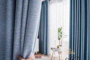 Có nên chọn rèm vải tráng cao su không?